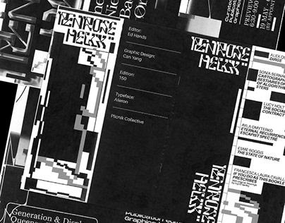 Penrose Helix Show Visual Idenity & Publication