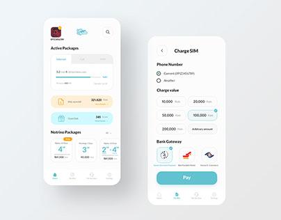 MCI Hamrah-E-Man App Redesign