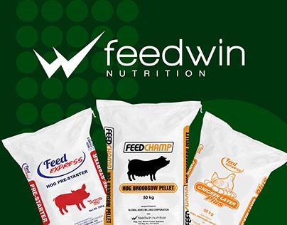Feedwin Nutrition Graphic Design