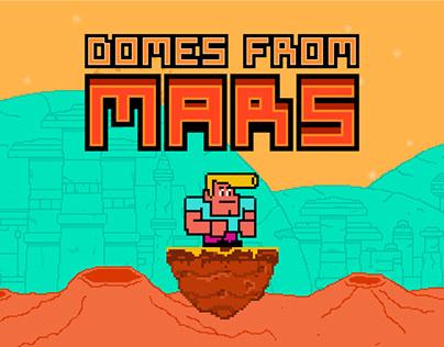 Domes form Mars