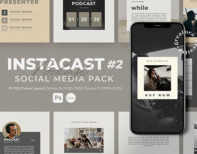 INSTACAST II   Social Media Pack