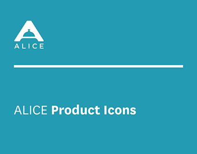 ALICE Visual Assets: Product Icons