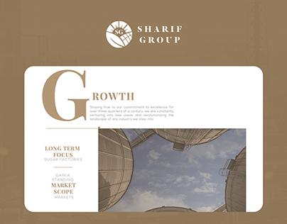 Web Design & Development | Sharif Group