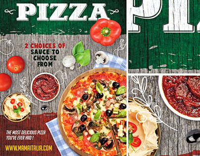 Pizza Flyer PSD Template