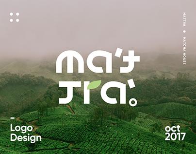 Mattra Matcha House   Logo Design