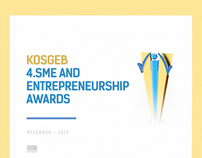 KOSGEB  4.SME AND  ENTREPRENEURSHIP  AWARDS