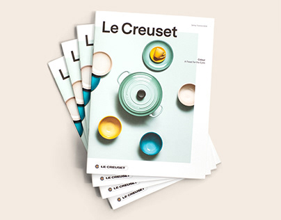 Le Creuset - Magazine Colours