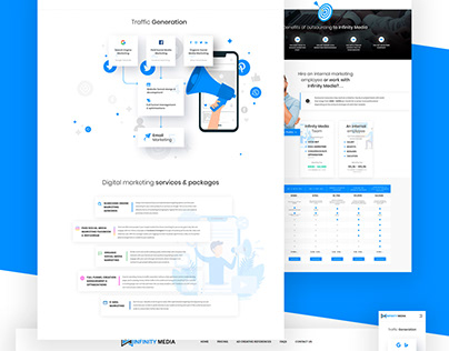 INFINITY MEDIA - Pricing Page Re-design