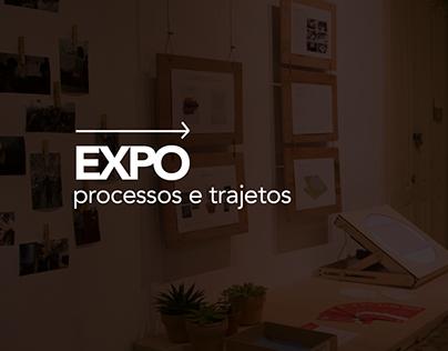 Exposição Processos e Trajetos - Alinhavo
