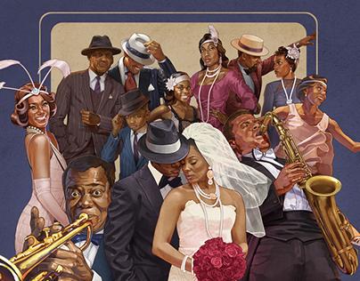 Harlem Renaissance Postcards