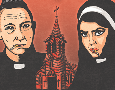 Reverend Beatman & Sister Nicole I. Garcia - Gig poster