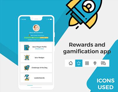 Rewards Mini Mobile App