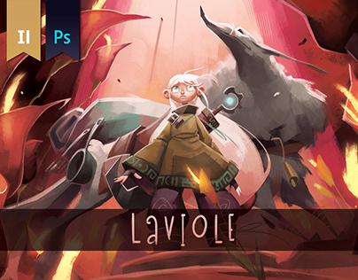 LAVIOLE_ Character Design Project