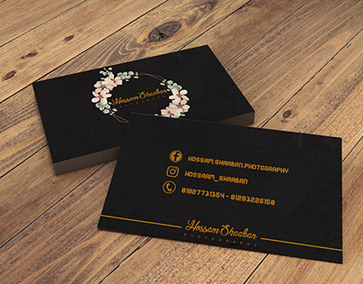 business card for photography ♥
