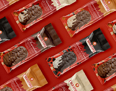 Cold Stone Sticks & Cones Packaging