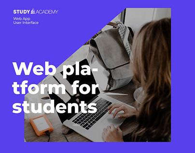 Web App   For Study Academy