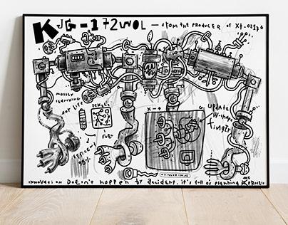KJG-172WOL, Poster