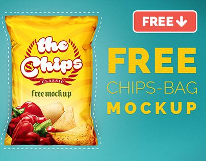 Chips Bag Free Mock-up