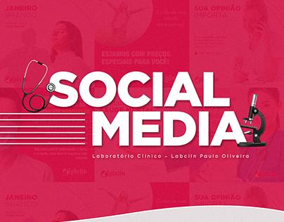 Social Media - Laboratório Labclin Paulo Oliveira