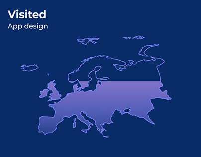 UX/UI Design: Travel Tracker App