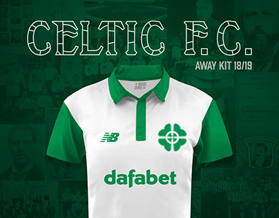 Celtic FC New Balance Away Jersey 18/19 Concept Kit