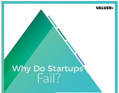 Why Do Startups Fail? A Valuer Infographic