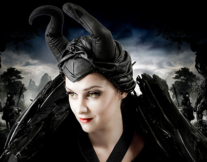 Maleficent Theme Retouching By Zarihs Zoltan .