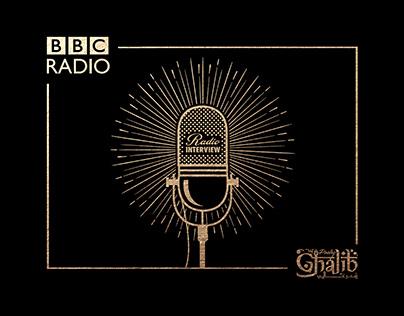BBC Radio Interview (Illustration & Animation)