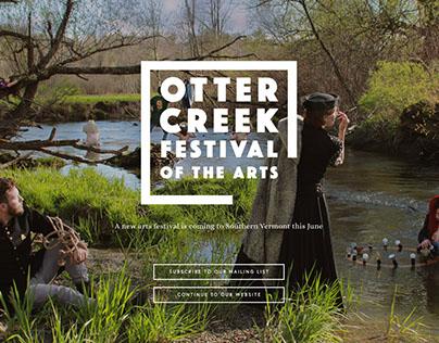 Otter Creek Festival Branding & Web (WIP)