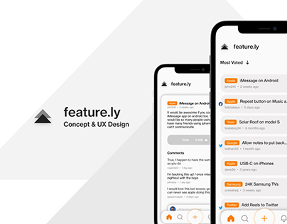 Feature.ly - Concept & UX Design