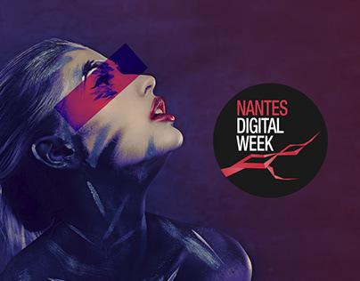 Creation of the Nantes Digital Week festival website