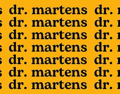 Dr. Martens Social Media Campaign