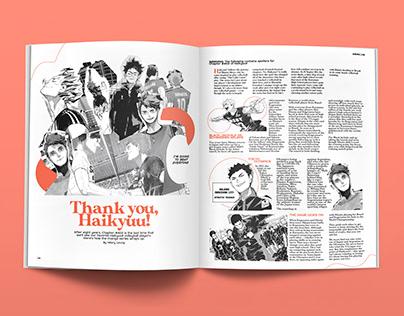 THANK YOU, HQ! Magazine Spread