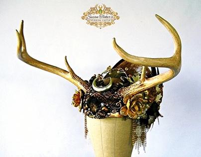 HARVEST MOON Antler Headdress