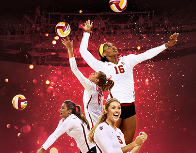 USC Women's Volleyball Poster