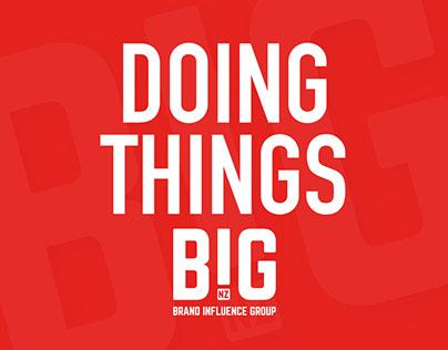 BIG - Brand Influence Group branding