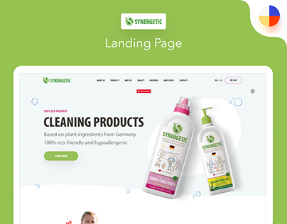 Synergetic Landing Page