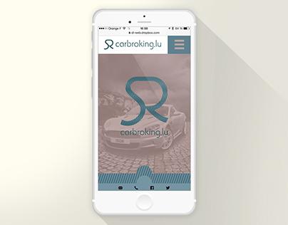 Carboking.lu Experience maps et maquette web