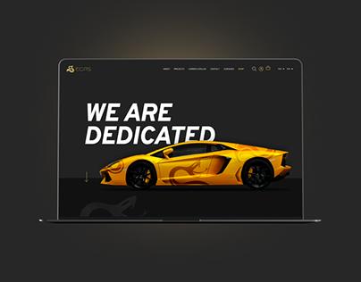ECPS Website + ecommerce