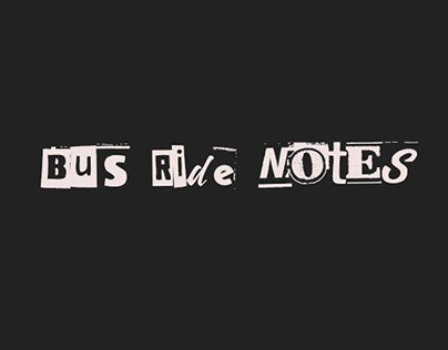 Bus Ride Notes