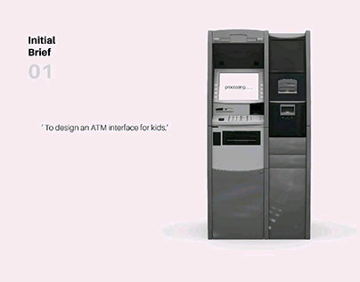 ATM User Interface for 10-17 years old