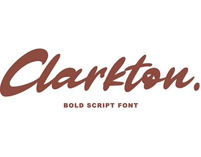Clarkton – Bold Script