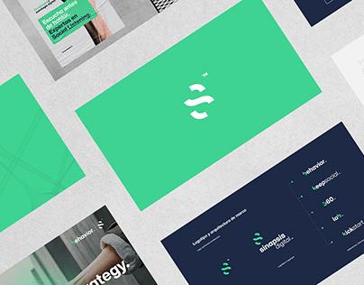 Sinapsis Digital - Rebranding.