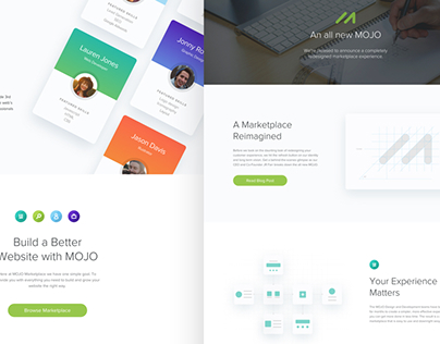 MOJO V2 Launch - Landing Page