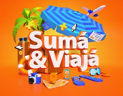 Itaú Sumá, Viajá & Ganá