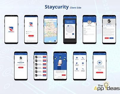 Mobile App Development - Staycurity Client