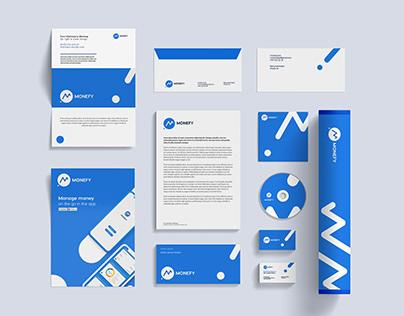 Monefy web & app product branding