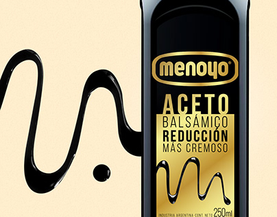 Aceto Balsámico Reducción - Menoyo