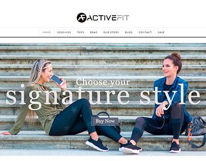ACTIVEFIT - Website