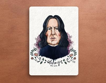 Snape - Alan Rickman | R.I.P